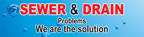 Sewer and drain problem - We are the solution